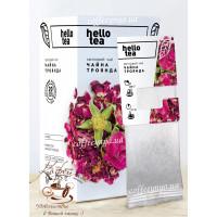 Чай цветочный hello tea Чайная роза 20пак